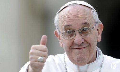 Járt már a pápánál? Nézzen be hozzá! című cikk borítóképe