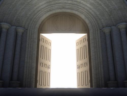 Nyissátok ki a templomokat! című cikk borítóképe