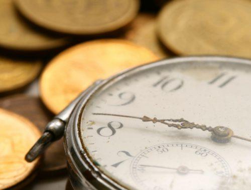 Az idő értéke című cikk borítóképe