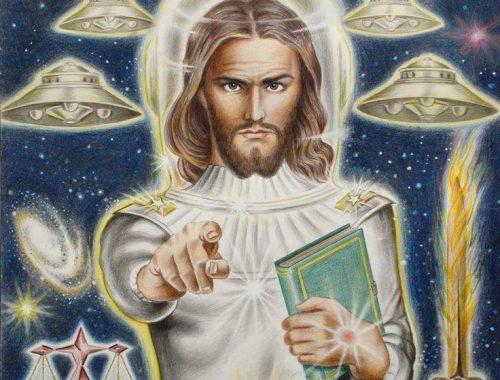 Hit és áltudomány – Jézus ufó? című cikk borítóképe