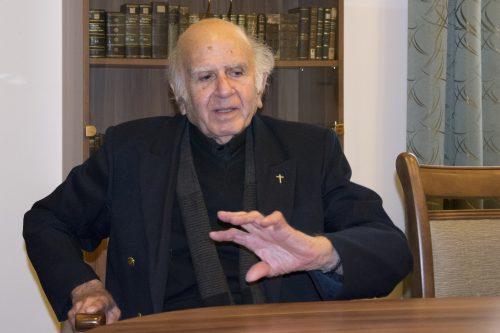 """""""Először meg kell védened a családod, a kultúrád, az identitásod, és azután kell kinyitnod az ajtód"""" - exkluzív interjú Henri Boulad jezsuitával"""