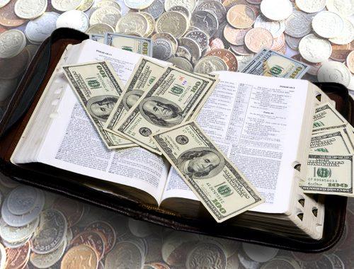 Kereszténység és pénz – kibékíthetetlen ellentét? című cikk borítóképe