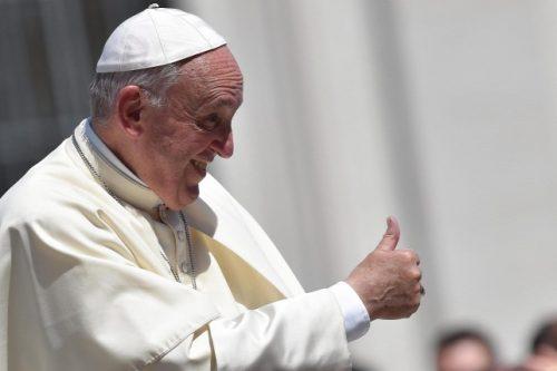 Ferenc pápa Budapestre érkezik - sajtóhír