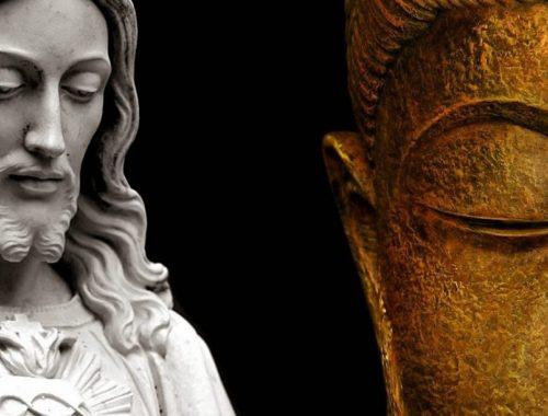 Buddha és Jézus két jóbarát? című cikk borítóképe