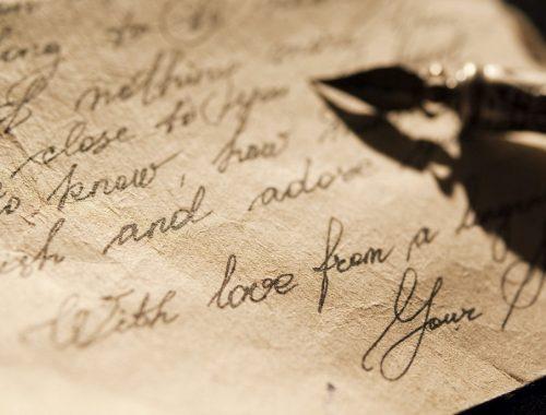 Levelet írt az Isten, neked című cikk borítóképe