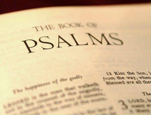 Miért olvassál zsoltárokat? című cikk borítóképe