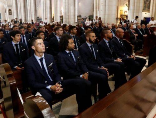 A Real Madrid a Szűzanyának ajánlotta a BL-győzelmet című cikk borítóképe