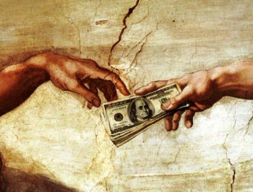 Kereszténység és pénz – elválaszt vagy összeköt? című cikk borítóképe