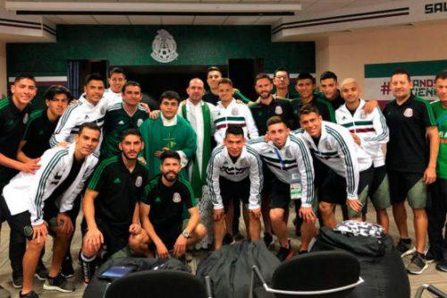 """A mexikói játékosoknak volt egy kérésük: """"misére szeretnénk menni!"""""""