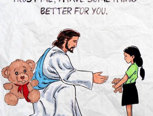 Amikor Isten valamit elkér című cikk borítóképe