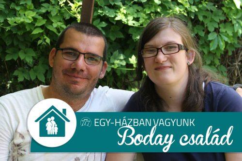 Egy-házban vagyunk – Boday család