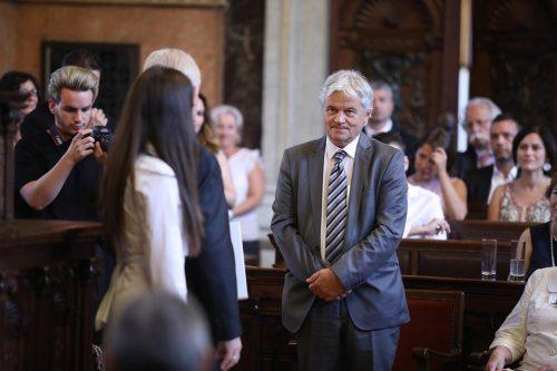 Csókay András átvette a Budapest díszpolgára címet
