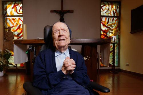 116 éves André nővér – Isten éltesse Európa legidősebb lakosát!